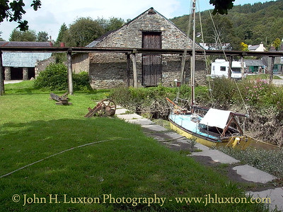 Morwellham Quay, River Tamar, Devon - August 25, 2002