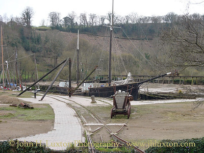 Morwellham Quay, River Tamar, Devon - April 16, 2006