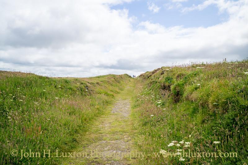 Porthgain, Pembrokeshire, Wales - July 10, 2021