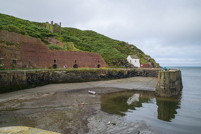 Porthgain, Pembrokeshire, Wales - August 14, 2019