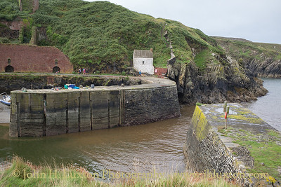 Porthgain, Pembrokeshire, Wales - August 26, 2018