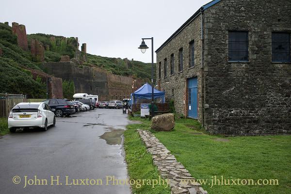 Porthgain, Pembrokeshire, Wales - August 26, 2018