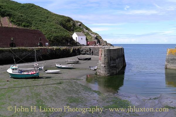 Porthgain, Pembrokeshire, Wales - August 06, 2013