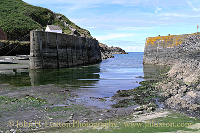 Porthgain, Pembrokeshire, Wales - August 06, 2013