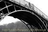 The Iron Bridge at Ironbridge - 6 December 2013
