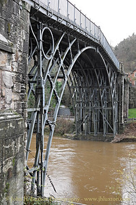 The Iron Bridge at Ironbridge - December 6,  2014