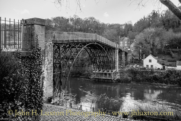 The Iron Bridge at Ironbridge - December 08,  2018