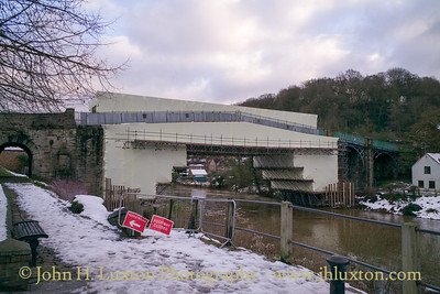 The Iron Bridge at Ironbridge - December 15,  2017
