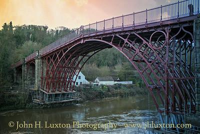 The Iron Bridge at Ironbridge - December 08,  2018