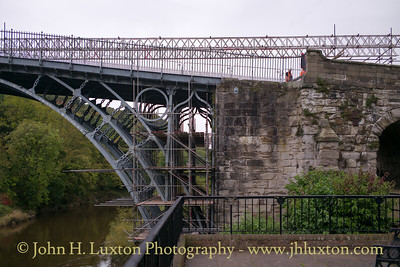 The Iron Bridge at Ironbridge - September 30,  2017