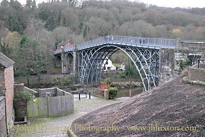 The Iron Bridge at Ironbridge - December 07, 2013