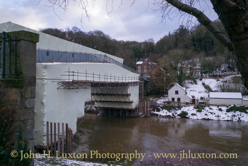 The Iron Bridge at Ironbridge - December 15,  2017