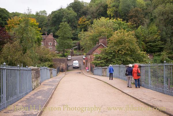 The Iron Bridge at Ironbridge - September 30,  2017