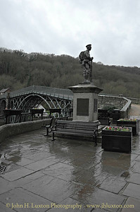 The Iron Bridge at Ironbridge - December 6,  2014