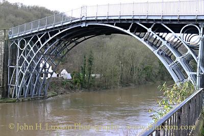 Iron Bridge at Ironbridge - December 08, 2012