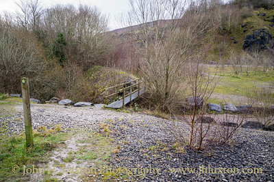 Minera Quarry and Lime Works, Minera, Wrexham, Wales - December 17, 2020