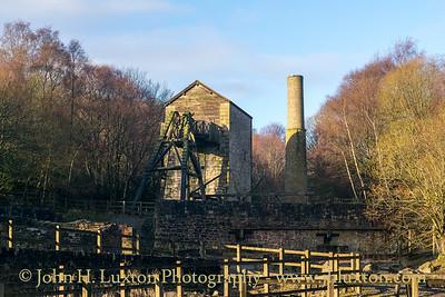 Minera Lead Mines, Minera, Wrexham, Wales - December 17, 2020