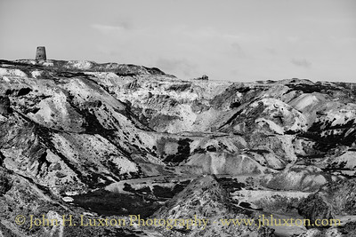 Parys Mountain Copper Mine, Anglesey, Wales - April 28, 2018