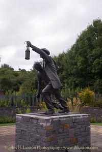 The Welsh National Coal and Universal Mining Memorial Garden, Senghenydd -  August 29, 2017