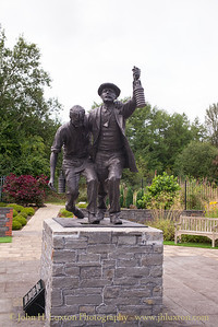 The Welsh National Coal and Universal Mining Memorial Garden, Senghenydd -  August 29, 2017
