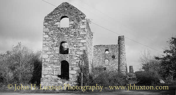 Basset Mines - North Wheal Basset - Lyle's Shaft, Carnkie, Redruth, Cornwall - October 24, 2018