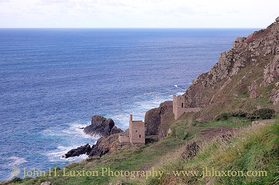 BOTALLACK MINE, Cornwall, UK - October 25, 2015