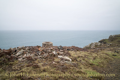BOTALLACK MINE, Cornwall, UK - March 26, 2018