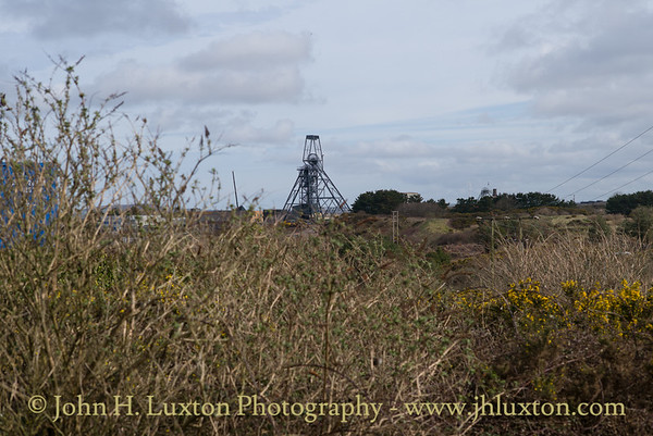 Dolcoath Mine, New East Shaft, Camborne, Cornwall - March 26, 2018