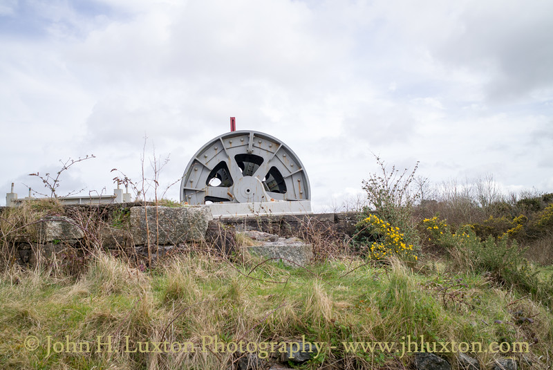 Dolcoath Mine, Harriett Shaft, Camborne, Cornwall - March 26, 2018