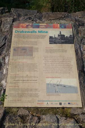 DRAKEWALLS MINE, Gunnislake, Cornwall - November 01, 2017