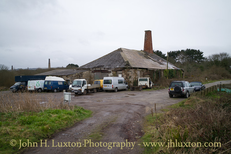 Great Wheal Busy Mine, Chacewater, Cornwall - March 26, 2018