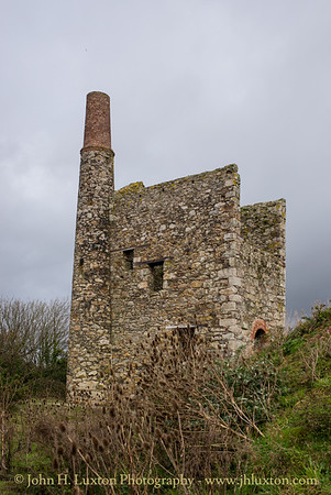 Hallenbeagle Mine, Scorrier, Cornwall - October 31, 2019