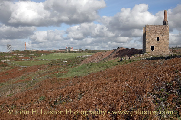 WHEAL OWLES, Cornwall, UK - October 25, 2015