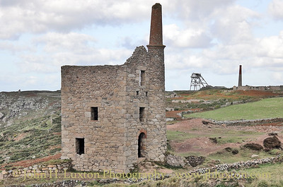 WHEAL OWLES, Cornwall, UK - October 25, 2015