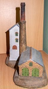 Cornish Engine House model by Michael Parry Ceramics