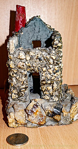 Cornish Engine House model bought at Pendeen mid 1960s