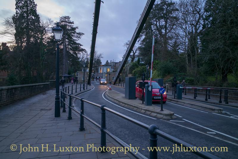 The Clifton Suspension Bridge, Bristol - December 29, 2018