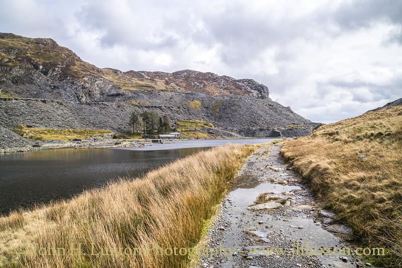 Cwmorthin Quarry, Tanygrisiau, Gwynedd, Wales - March 19, 2020