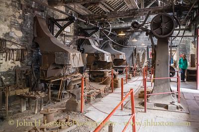 The National Slate Museum - Amgueddfa Llechi Cymru, Dinorwic Quarry, Llanberis, Wales. August 21,  2019