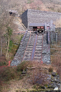 The National Slate Museum - Amgueddfa Llechi Cymru,  Dinorwic Quarry,  Llanberis, Wales. February 15,  2018