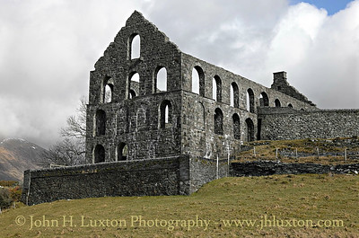 Ynys-y-Pandy Slate Mill, Cwmystradllyn, Gwynedd, Wales  - February 16, 2015