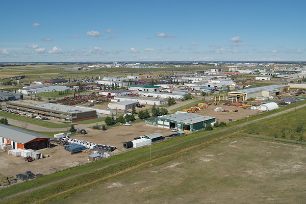 Leduc Business Park - Aerial Photo