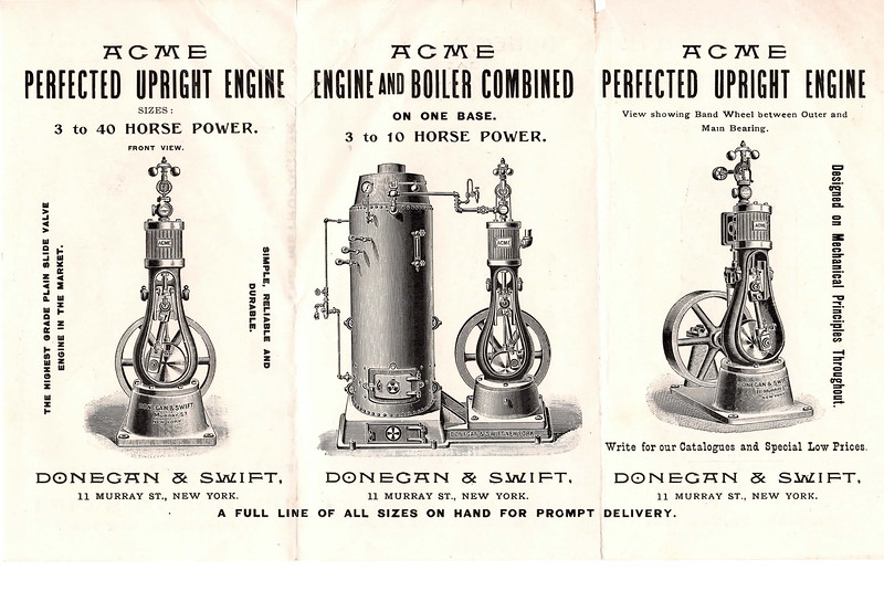 Donegan & Swift Acme Upright Engine