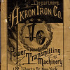 Akron Iron Co., Eastern Department, 1889