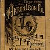 Akron Iron Co., Eastern Department, 1889