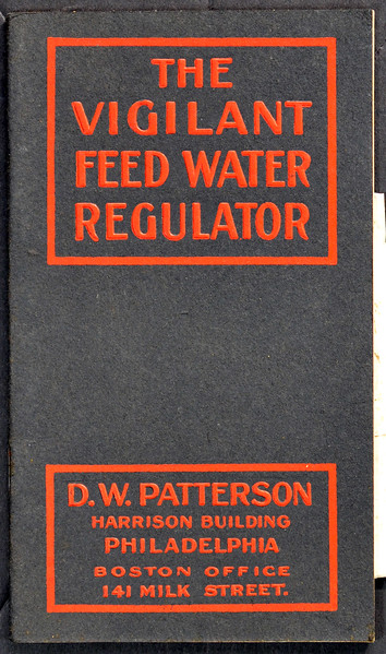 Vigilant Feed Water Regulator