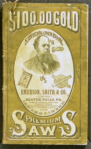 Emerson, Smith & Co., Beaver Falls, PA., 1892