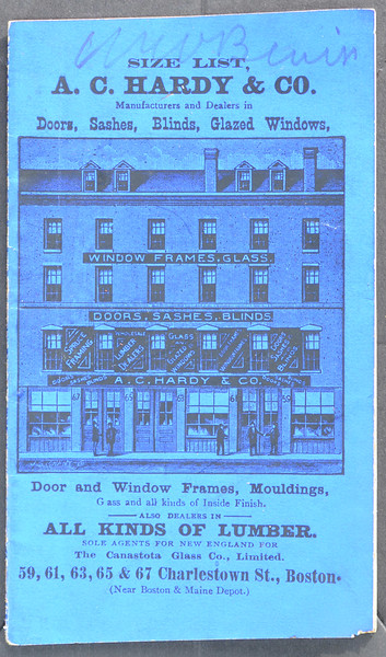 A.C. Hardy & Co., Charlestown St., Boston