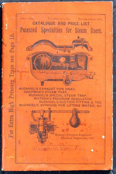 Walworth Mfg. Co., 16 Oliver St., Boston, MA., 1893