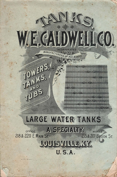 W. E. Caldwell Co., Louisville, KY., 1896